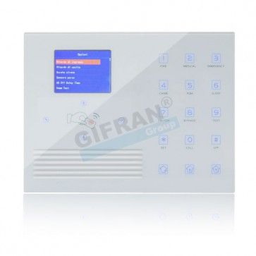 Allarme wireless TCP con combinatore