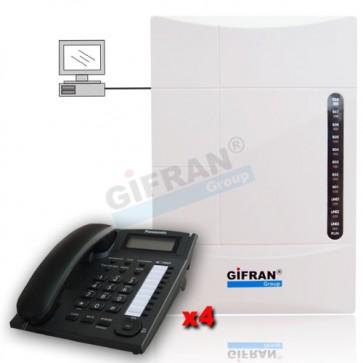 Centralino telefonico 8 interni per uffici, ville e Aziende