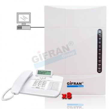 centralino telefonico 8 interni 3 linee esterne prezzi centralino