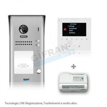 videocitofono professionale 2 fili - kit videocitofono al miglior prezzo