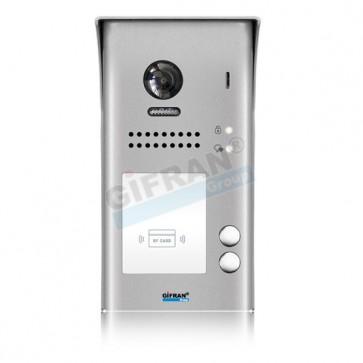 Pulsantiera videocitofono bifamiliare 2 (due) fili. Videocitofoni professionali per ville o condomini.