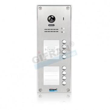 videocitofono 2 fili professionali 8 appartamenti