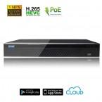 NVR Videosorveglianza POE 4 canali 5MPX H.265
