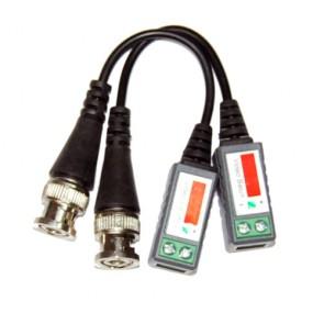 Balun UTP Cat. 5 per la videosorveglianza, utilizzo su distanza fino a 600 Mt.