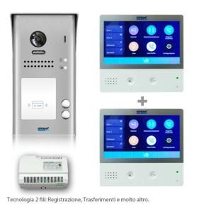 Videocitofono bifamiliare professionale WIFI