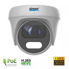 telecamera mini dome poe professionale