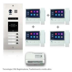 Kit videocitofono 2 fili prezzi bassi