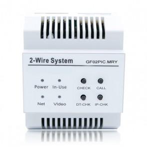 Modulo connessione internet e trasferimento videocitofono 2 fili